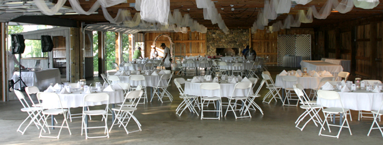 Graves Mountain Lodge Wedding Reception