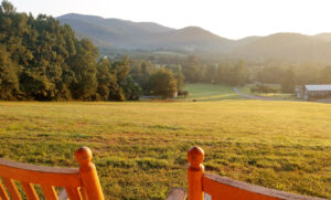 Summer at Hotel Lodge Rooms - Blue Ridge View Lodges on Doubletop Mountain