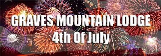 Graves Mountain Lodge 4th of July Fireworks