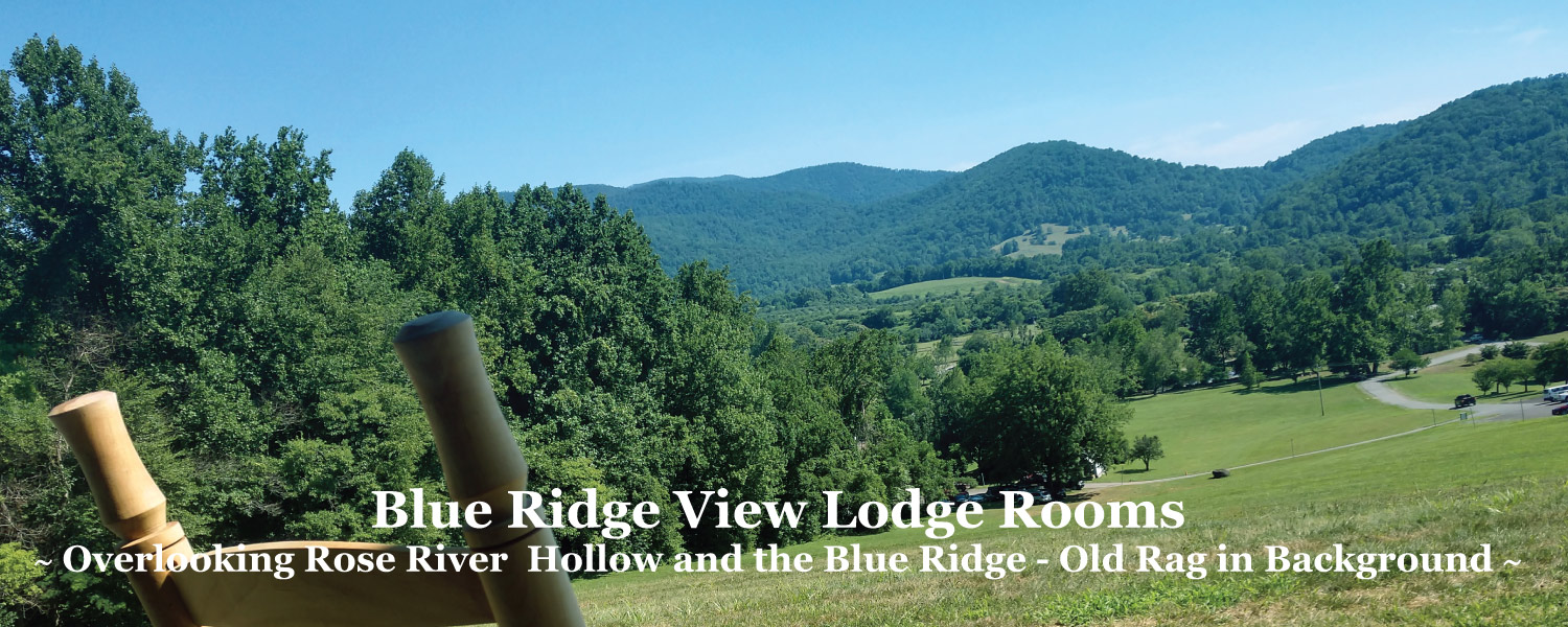 Hotel Lodge Rooms next to Shenandoah National Park in the VA Blue Ridge at Graves Mountain Farm & Lodges