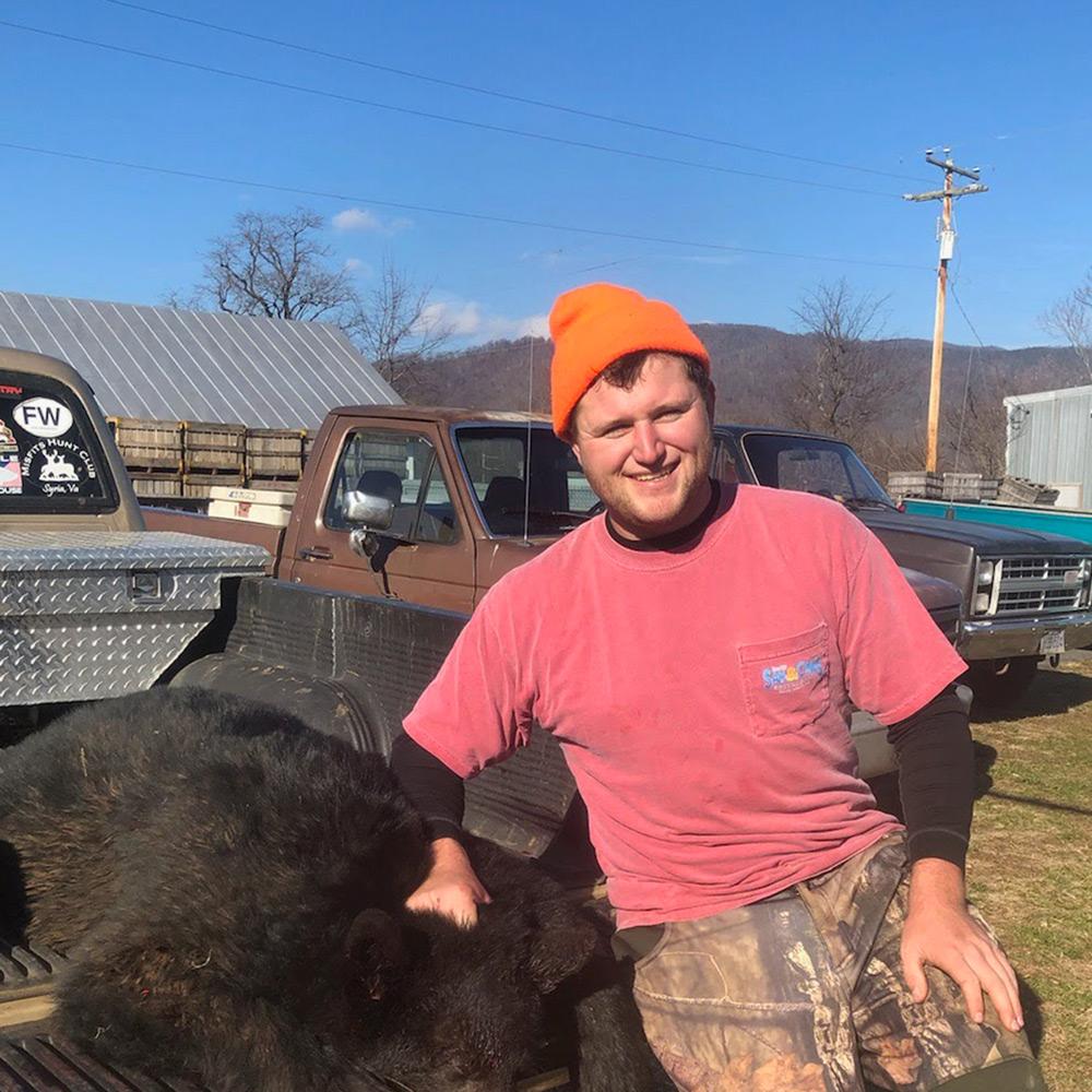 Hunting Bear in VA Blue Ridge Mountains at Graves Mountain Farm & Lodges