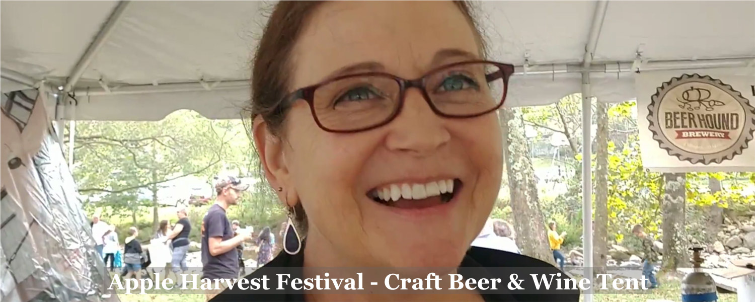 Shirley - Craft Beer Maker at Graves Mountain Apple Harvest