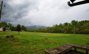 Back View of Blue Ridge