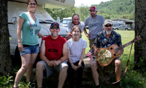 Music Festival - busy weeked at Graves Mountain Campground