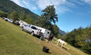 Horse Camping and Trail Rides on the Farm and in Shenandoah National Park - over 100 miles of trails