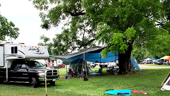 Campig at Graves Muntain Farm for Bluegrass Jams