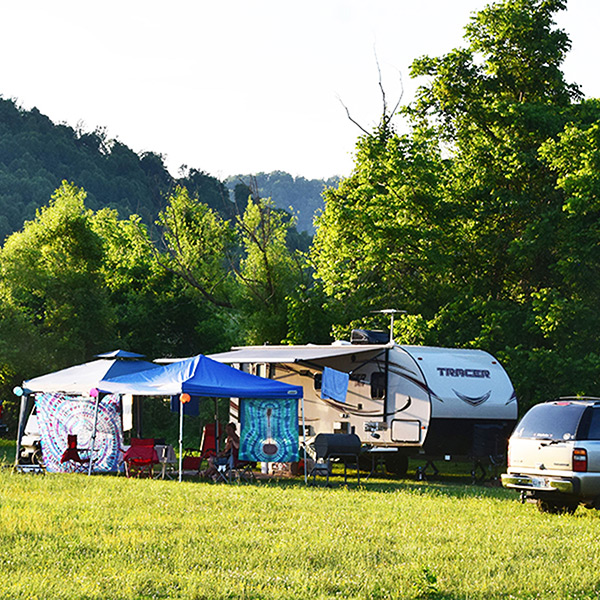 Campground at Graves Mountain farm & Lodges by Shenandoah National Park