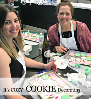 Cozy Winter Weekends - Cookie Decorating with Merri of Cake Krums