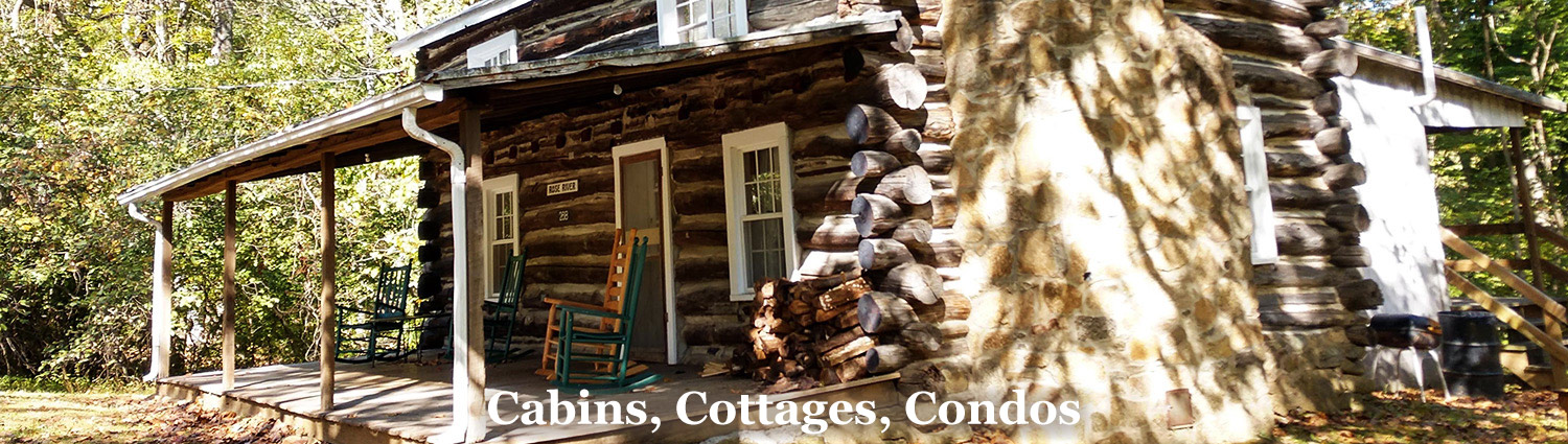 Cabins for rent near Shenandoah National Park at Graves Mountain Farm