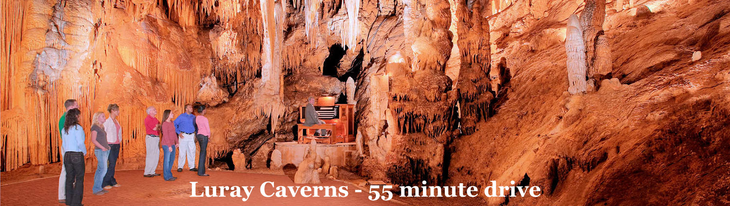 Luray Caverns - 55 Mins from Graves Mountain Farm