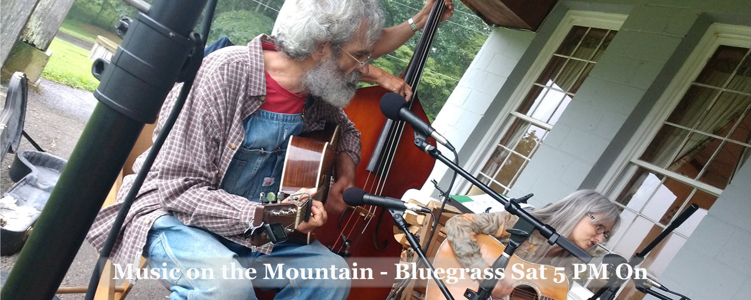 Bluegrass Music at Graves Mountain - Saturdays at 5PM - free