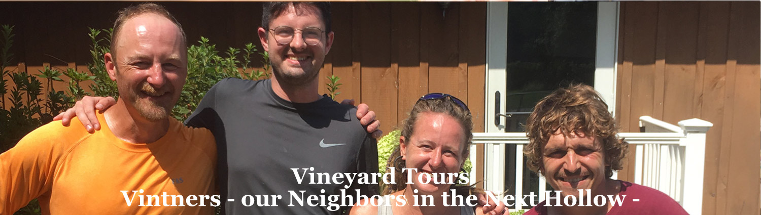 Vineyard Tours from Graves Mountain Farm * Lodges, Syria VA, the Blue Ridge