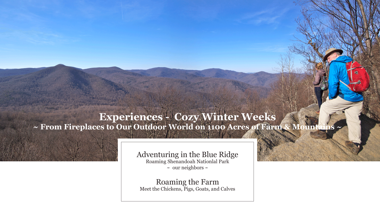 Winter outdoor and indoor experiences at Graves Mountain Farm & Lodges & Campground