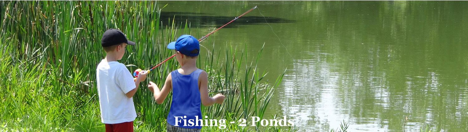 Pond Fishing at Graves Mountain Farm