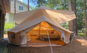 Glamping at Graves Mountain Campground near Shenandoah National Park