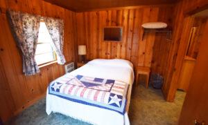 Double bed in Bedroom #1