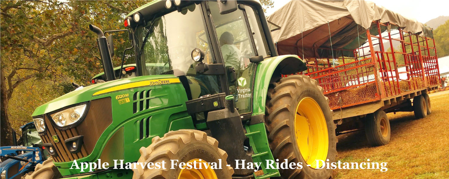 Hay Rides at Graves Mountain Apple Harvest Festival