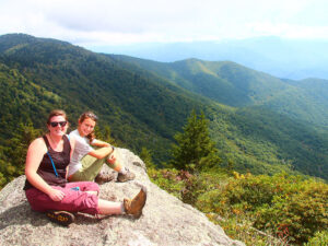 Hiking up Old Rag and White Oak Canyon Trail - 7 miles up our back hollow road