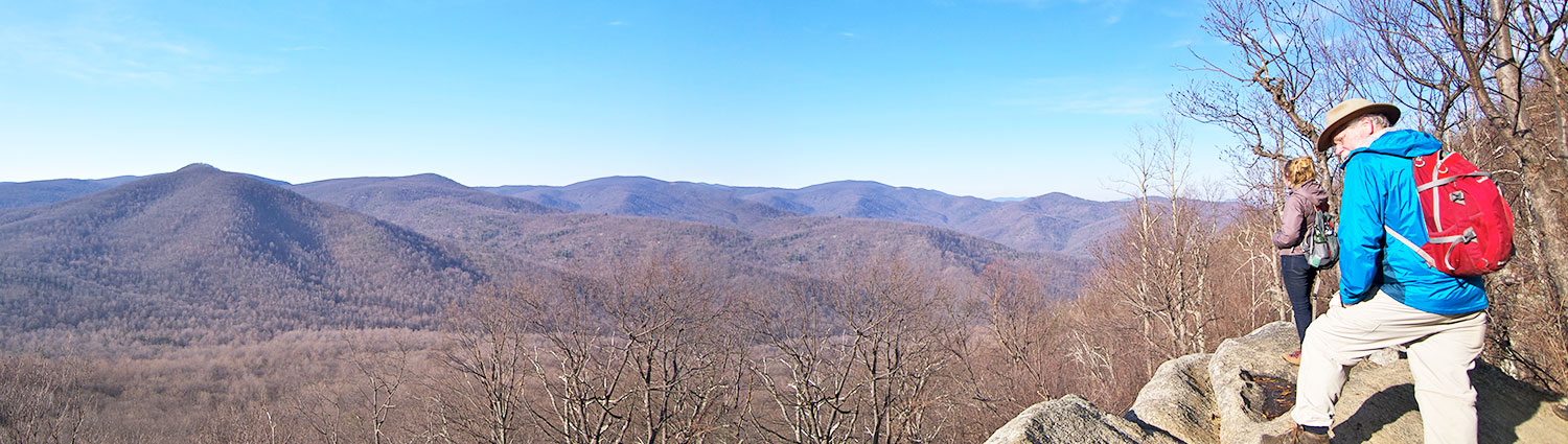 Hiking Old Rag in Winter from Graves Mountain Farm & Lodges