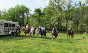 Horse Camping at Graves Mountain Campground by Shenandoah National Park
