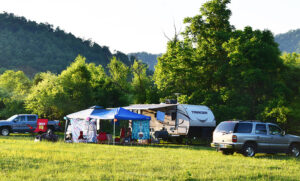 Graves Mountain Campground by Shenandoah National Park
