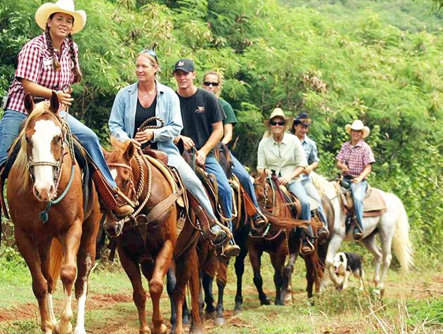 Blue Ridge Horseback Riding by Shenandoah National Park in Syria Va.