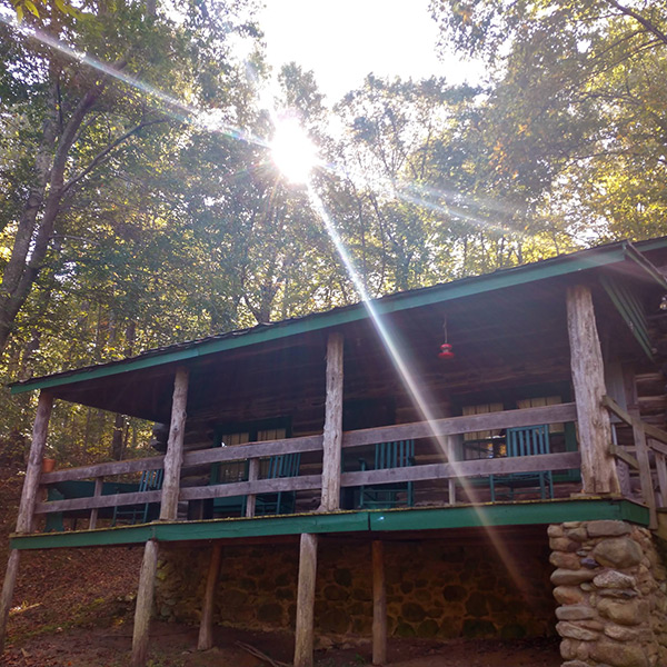 Larger cabins at Graves Mountain Farm & Lodges