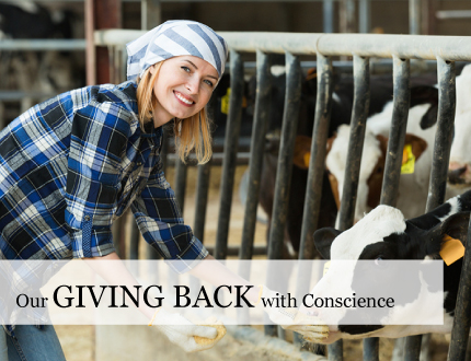 CSR - Giving back to community by Graves Mountain Farm and Lodges