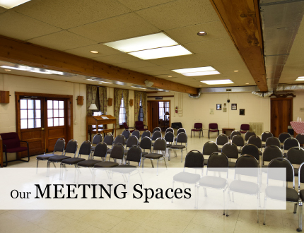Meeting Room Z=Sizes at Grave Mountain Farm & Lodges