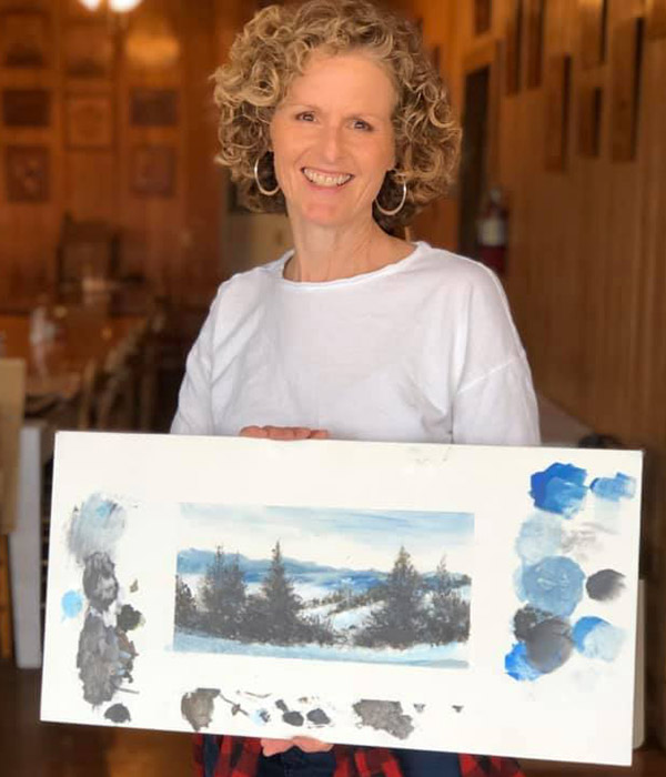 Watercolor Workshop with Lou Messa at Graves Mountain