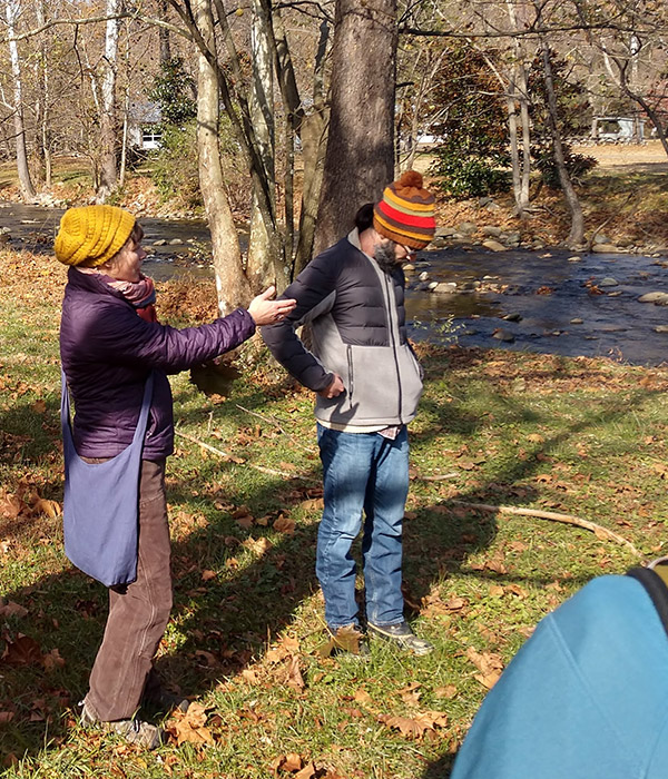 Halloween Nature walk - getting ready for winter transition
