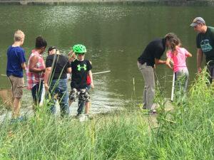 Natrure walk and pond explore