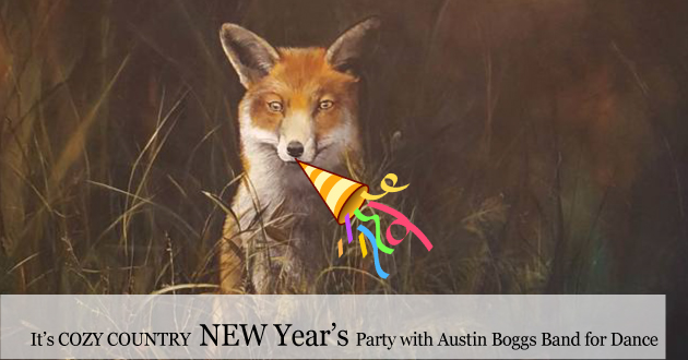 New Year's Eve country style party in the Lodge for 2019-2020