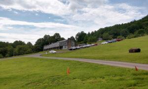 View toward Main Lodge