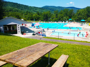 Huge pool with lifeguards and sign-in controls. Seasonal - Memorial Day Weekend to Labor Day