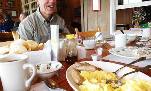 Family Style Dining at Graves Farm Restaurant
