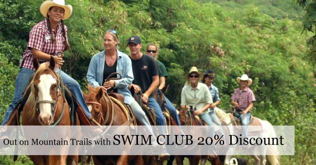Horseback Riding for Graves Mountain Swim Club