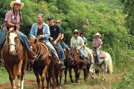 Trailk Rides and Riding Stable at Graves Mountain Farm & Lodges