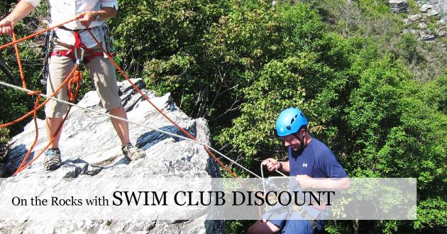 Mountain Climbing Swim Club Discount