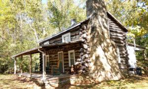 South Side of Log Cabin