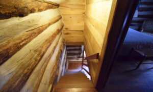 Stairs to Bedrooms and Half Bath