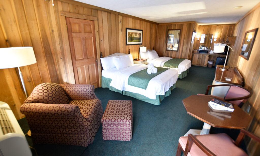 Interior Blue Ridge view Lodge Rooms