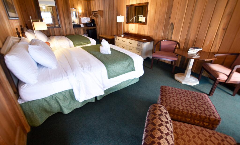 Interior Blue Ridge View Lodge Room