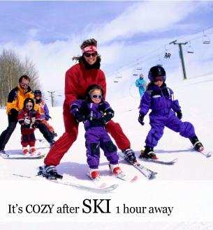 Winter Getaway ski at Massanutten - stay at Graves Mountain Farm & Lodges