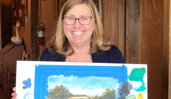 Lou Messa Art Workshop at Graves Mountain Farm - monthly on first Saturday