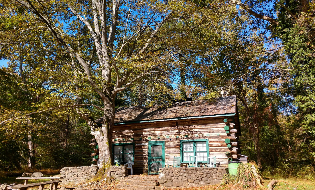 Upper Rose river Log Cabin