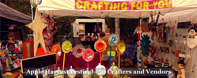 Vendor-Crafter at Graves Mountain Apple Harvest Festival